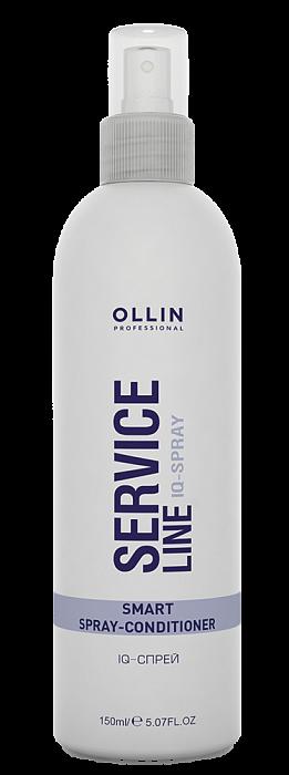 Izsmidzināms kondicionieris matu struktūras normalizēšanai OLLIN Service Line IQ spray, 150ml