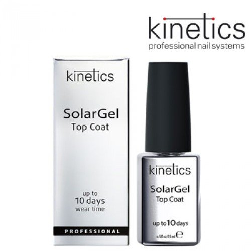 Želejlaka Kinetics SolarGel Top Coat, 15ml