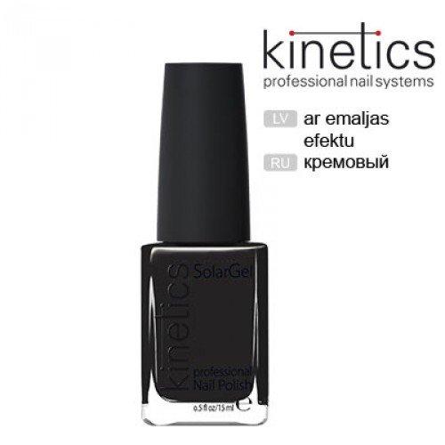 Nagu laka Kinetics SolarGel Jet Black #188, 15ml