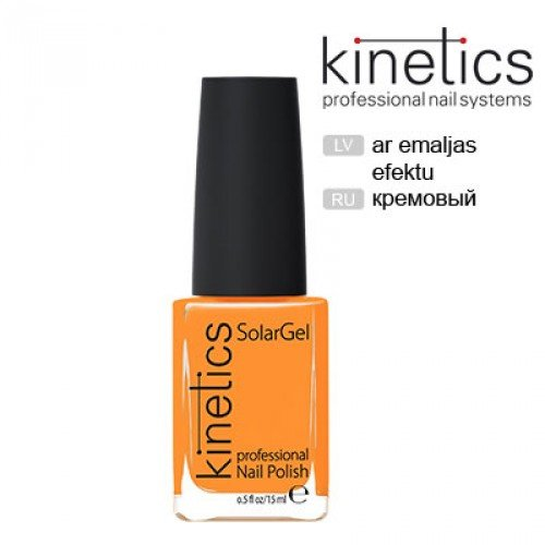 Nagu laka Kinetics SolarGel Orange Pop #194, 15ml