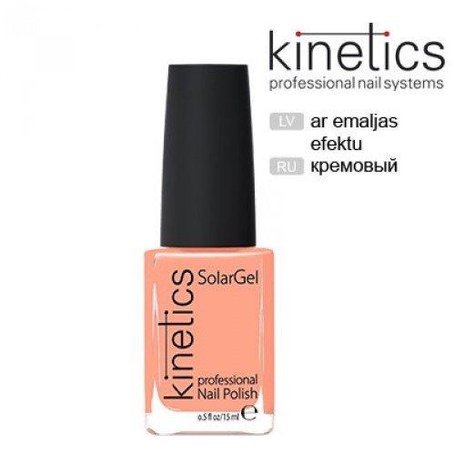 Nagu laka Kinetics SolarGel Peach Pop #231, 15ml
