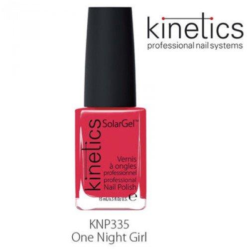 Nagu laka Kinetics SolarGel One Night girl #335, 15ml