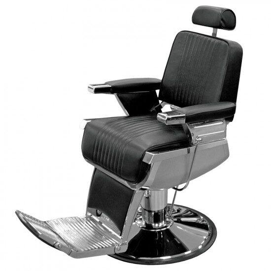 Barber krēsls 8768, melns