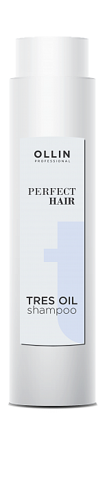 Šampūns ar jojoba, vīnogu eļļām OLLIN Perfect Hair Tres oil shampoo, 400ml