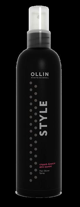 Spīdums matiem OLLIN Style Hair shine spray, 200ml
