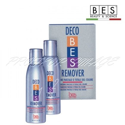 Matu krāsas noņēmējs BES Deco Remover, 2X150ml