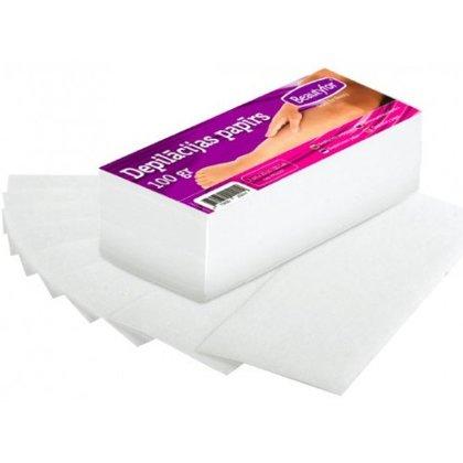 Depilācijas papīrs sloksnēs Beautyfor, 100gab