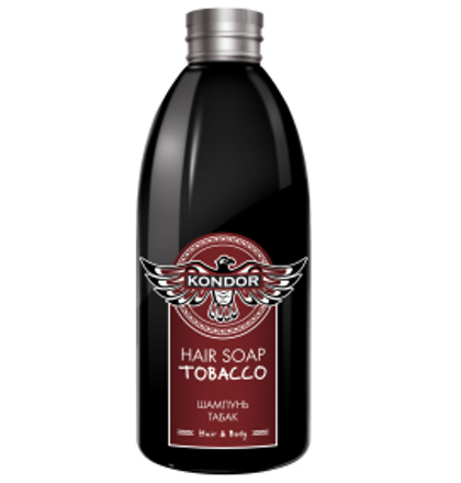 Šampūns matiem un ķermenim ''Tabaka'' KONDOR Hair&Body Tabacco, 300ml