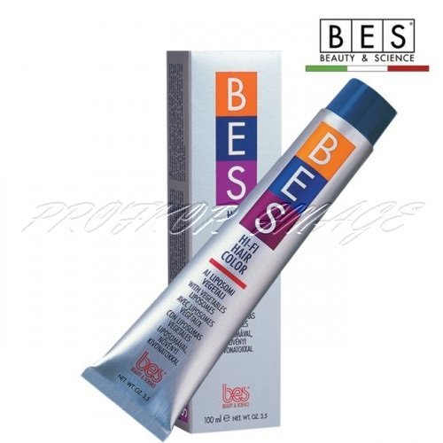 Matu krāsa BES Hi-Fi NATURAL - Black 1.0, 100ml