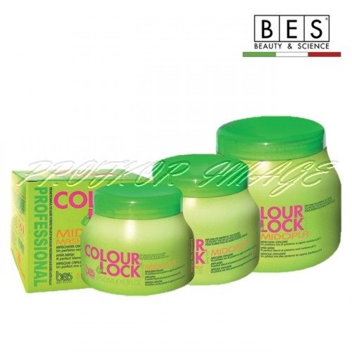 Matu maska BES Colour Lock Midopla, 250ml
