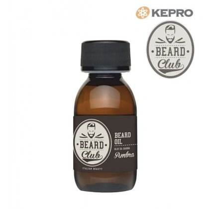 Eļļa bārdai Dzintars Kepro Beard Club beard oil Ambra, 50ml