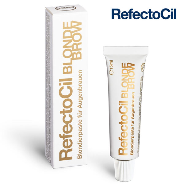 Blonda krāsa skropstām-uzacīm RefectoCil 0 Blonde, 15ml