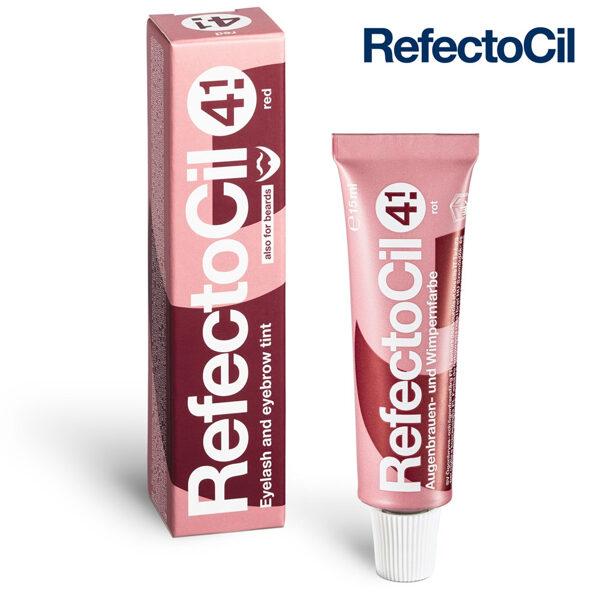 Sarkanā krāsa skropstām-uzacīm RefectoCil 4.1 Red, 15ml