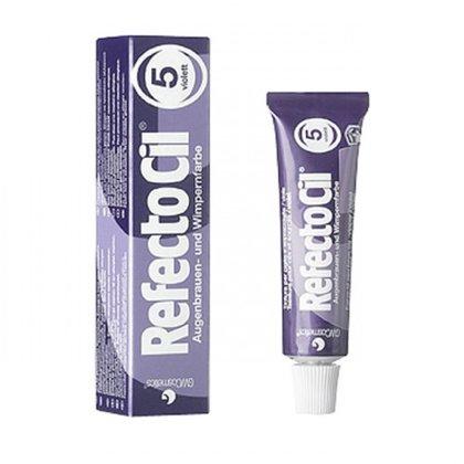 Violēta krāsa skropstām-uzacīm RefectoCil 5 Purple, 15ml