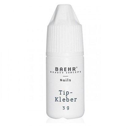 Tipšu līme Baehr Tip-Kleber ar uzgali, 3g