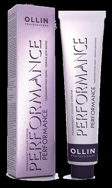 Noturīga krēmveida matu krāsa OLLIN PERFORMANCE Permanent Color Cream, 60ml