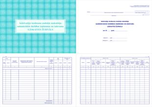 Saimnieciskās darbības ieņēmumu un izdevumu uzskaites žurnāls