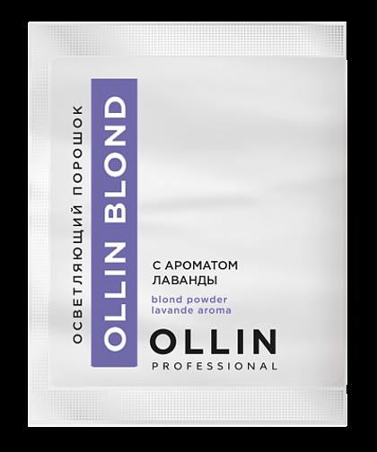 Pulverveida balinātājs ar lavandas aromātu OLLIN BLOND Powder Aroma Lavande, 30gr