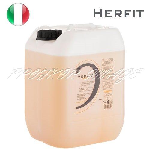 Šampūns novājinātiem matiem Herfit, 5L