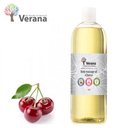 Ķirsis ķermeņa masāžas eļļa Verana Cherry, 1L