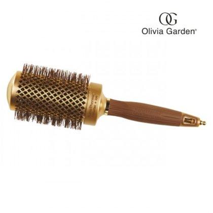 Keramiskā matu ķemme Olivia Garden nano thermic, 54mm