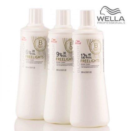 Matu balināšanas sistēma Wella Blondor Freelights Oxydant 6%, 1L