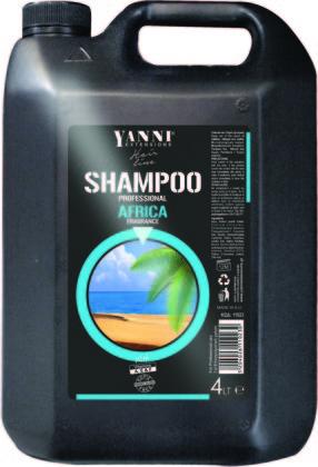 Šampūns profesionālai lietošanai YANNI Africa, 4L