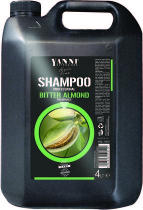 Šampūns profesionālai lietošanai YANNI Almond, 4L