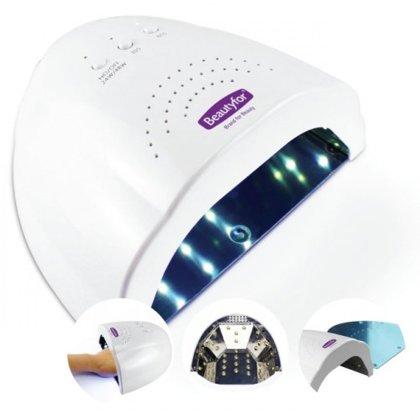UV-Led lampa manikīram Beautyfor, 24/48W ar taimeri