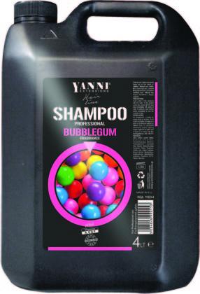 Šampūns profesionālai lietošanai YANNI Bubble gum, 4L