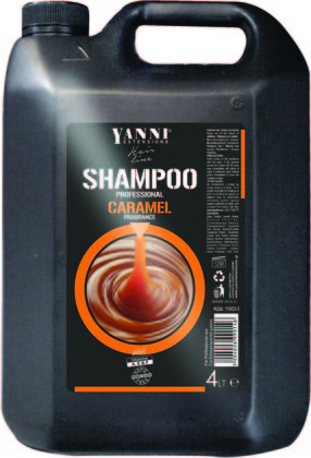 Šampūns profesionālai lietošanai YANNI Caramel, 4L