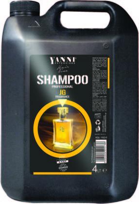 Šampūns profesionālai lietošanai YANNI Aromatic, 4L