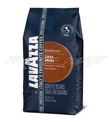 Kafija Lavazza Super Crema, 1kg, pupiņās