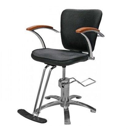 Hidraulisks klienta krēsls, melns AB11