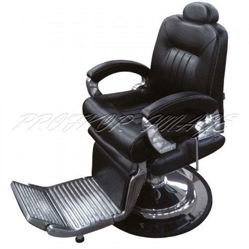 Barber krēsls 8771-1, melns