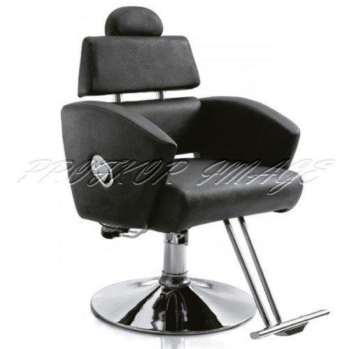 Klienta krēsls frizētavai 167, melns
