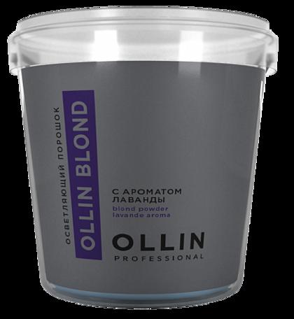 Pulverveida balinātājs ar lavandas aromātu OLLIN BLOND Powder Aroma Lavande, 500gr