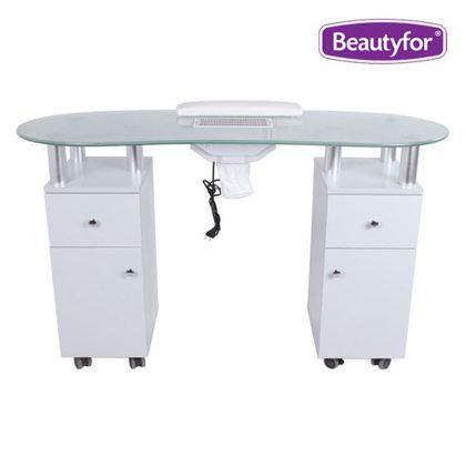 Manikīra galds ar putekļu nosūcēju Beautyfor