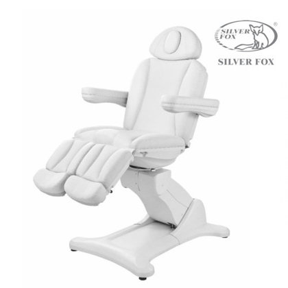 Pedikīra krēsls Silver Fox balts 2246А