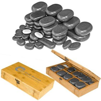 Bazalta akmeņu komplekts H45TC2, 45gab