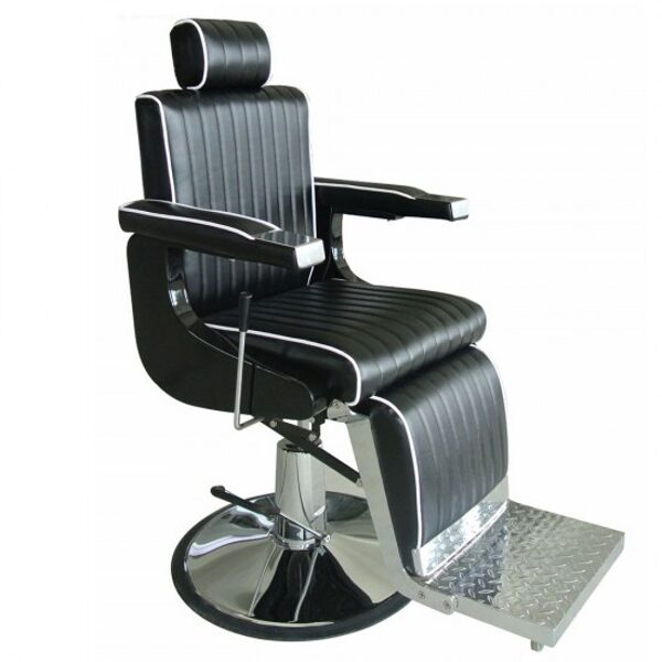 Barber krēsls CH-407, melns