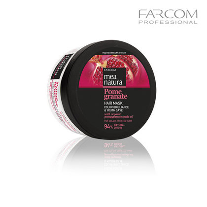 Matu maska Farcom Mea Natura Pomegranate Color Brilliance & Youth Save, 250ml
