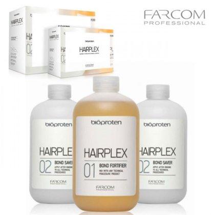 Matu aizsardzība Farcom Bioproten Hairplex, 3x525ml