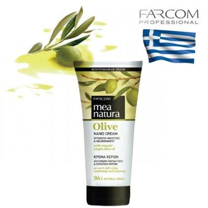 Krēms rokām Farcom Mea Natura Olive Moisture & Nourishment, 100ml