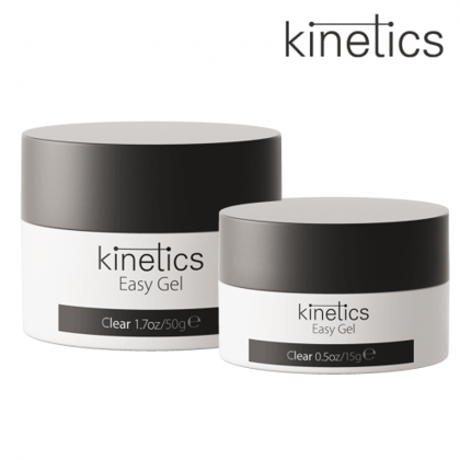 Nagu želeja-caurspīdīga Kinetics Easy Gel Clear, 15ml