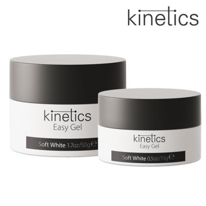 Nagu želeja-balta Kinetics Easy Gel Soft White, 15ml