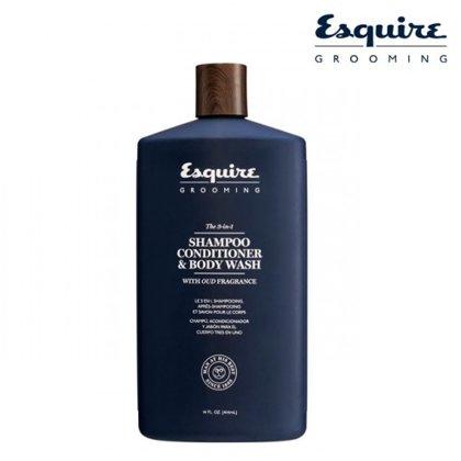 Šampūns, kondicionieris un dušas gēls (3-1), 414ml