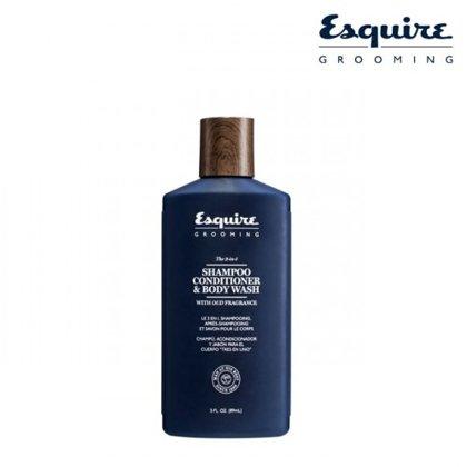 Šampūns, kondicionieris un dušas gēls (3-1) Esquire Grooming, 89ml