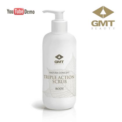 Trīskāršas iedarbības skrubis GMT Nature Concept Body Triple Action Scrub, 500ml