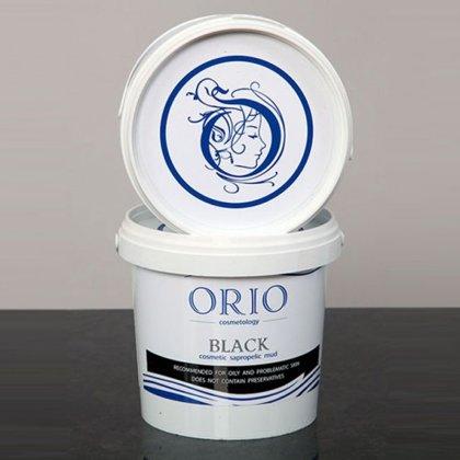 Melnās ārstnieciskās sapropeļa dūņas Orio, 1kg